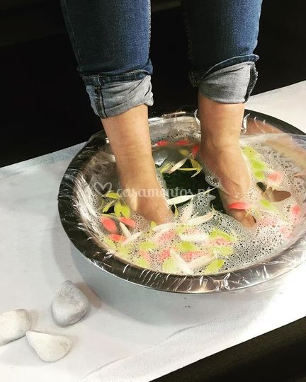 O cuidado de pés