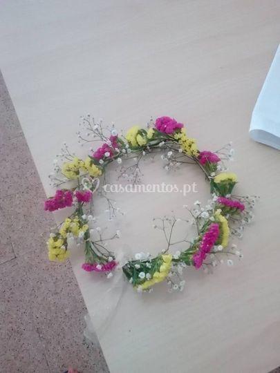 Bandolete de flores