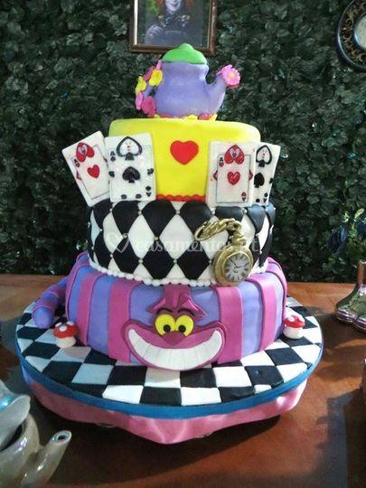 Cake divertido