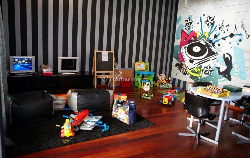 Sala infantil nobre