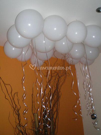 Balões c/ led