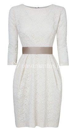 Guipur dress