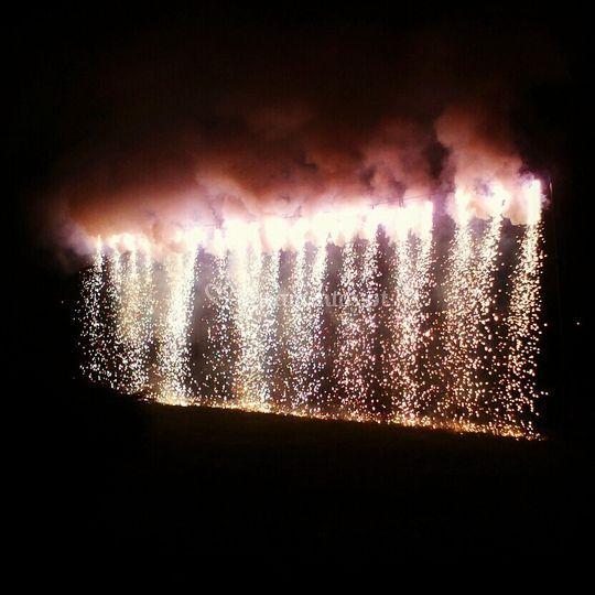 Fogo de artificio e ambientes