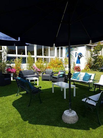 Lounge pavão
