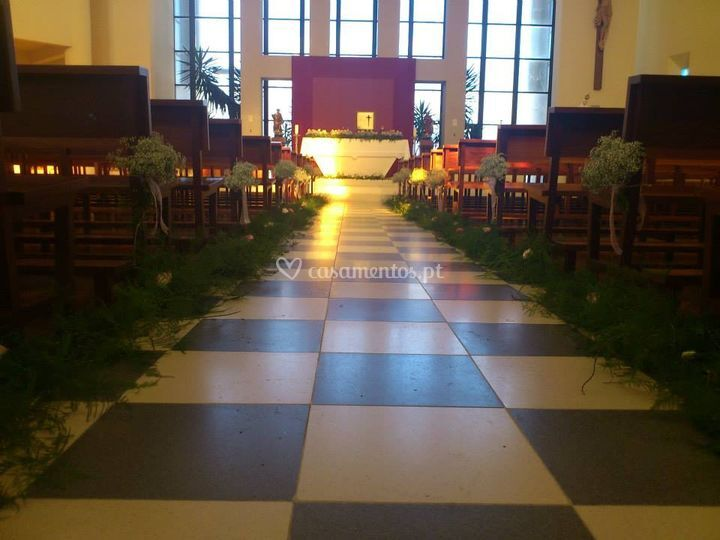corredor igreja