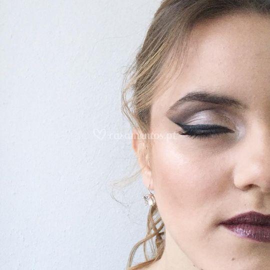 Make-up mais ousada