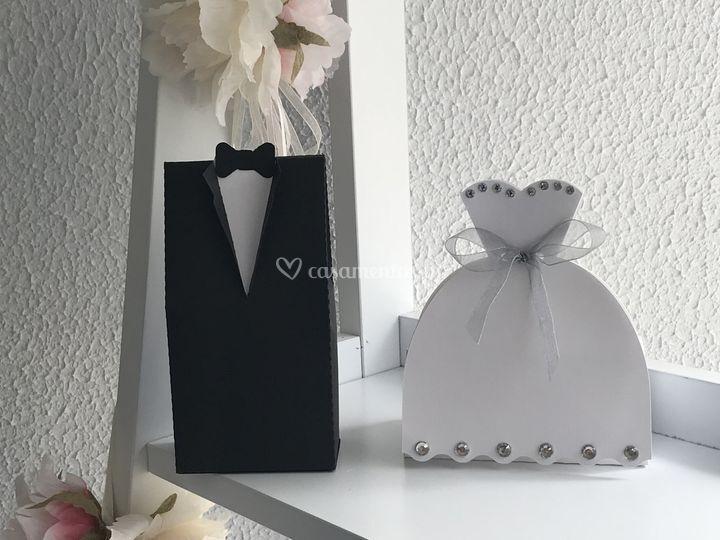 Caixas noivos