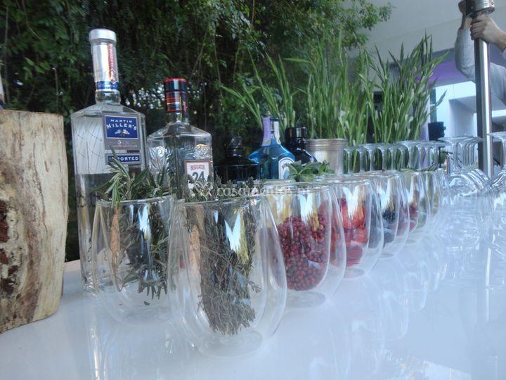 Bar gins