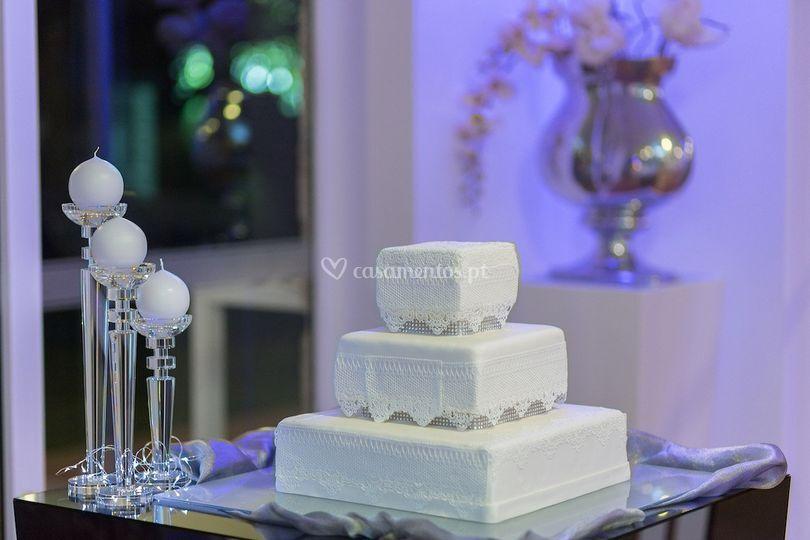 Bolo casamento