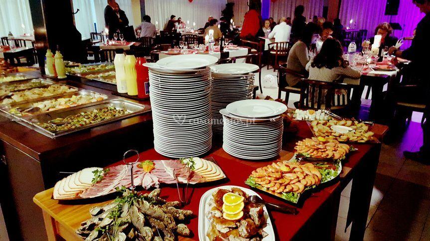 Buffets variados