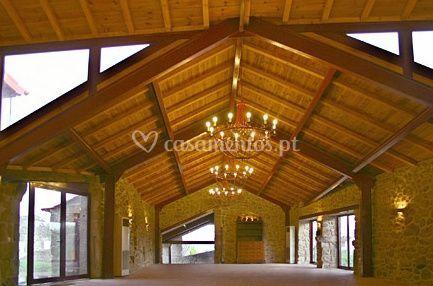 Salão Gil Vicente vazio