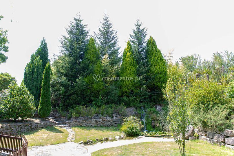 Os jardins