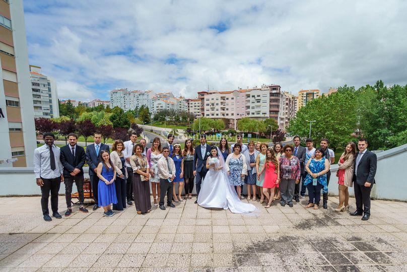 Coro no casamento