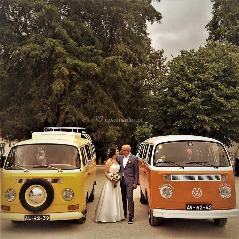 As manas e os noivos