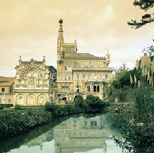 O palácio de Palace Hotel do Bussaco