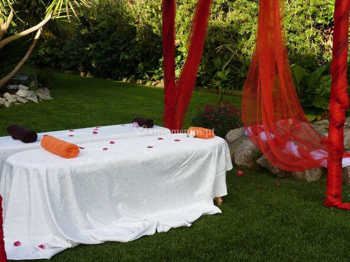 Massagens para convidados