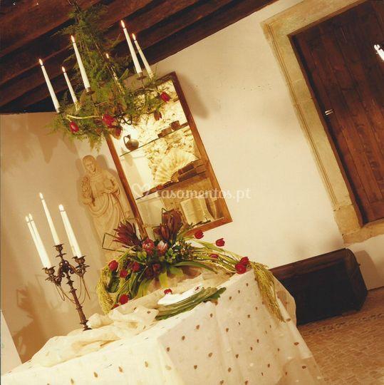 Uma das salas do convento