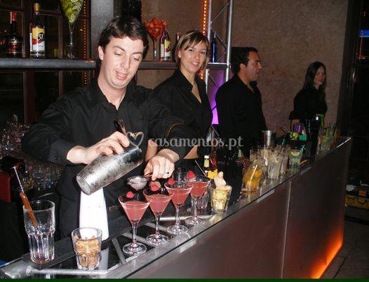 Preparação de bebidas