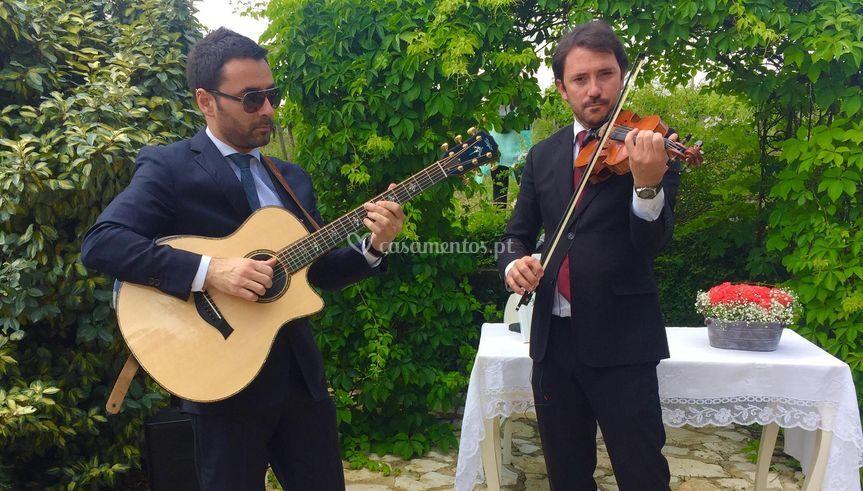 Cerimónia violino e guitarra
