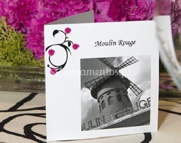 Convite Moulin Rouge