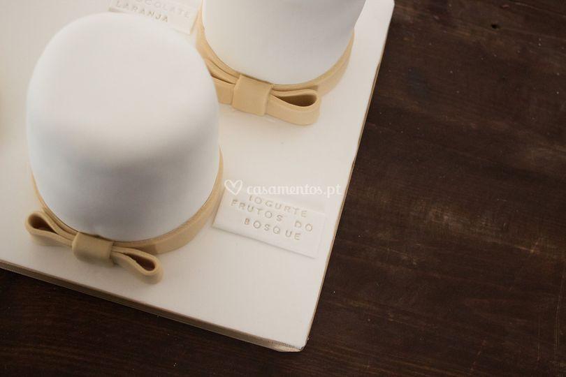 Degustação bolo de noivos
