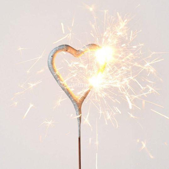 Sparkles coração