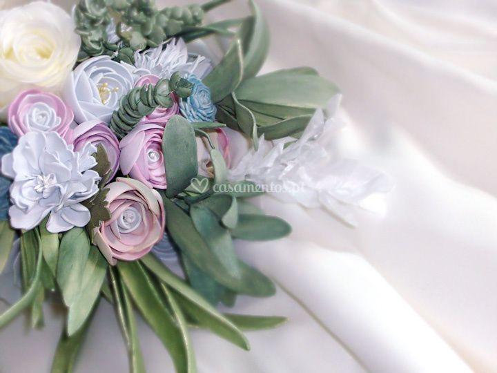 Bouquet de flores mimo