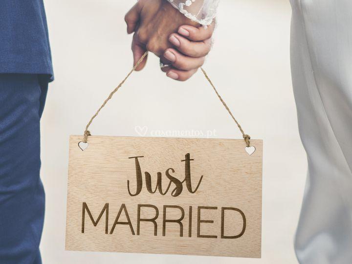 Placa just married