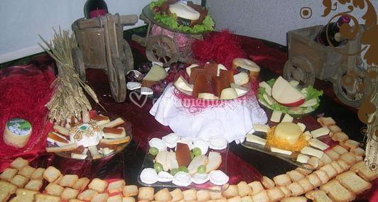 Doces e queijinhos