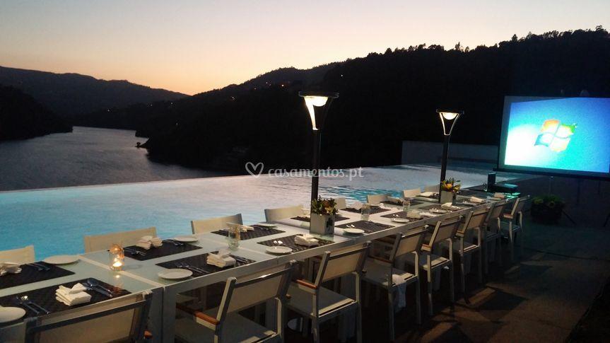 Hotel Douro Valley Jantar Empr