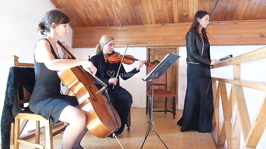 Trio com soprano