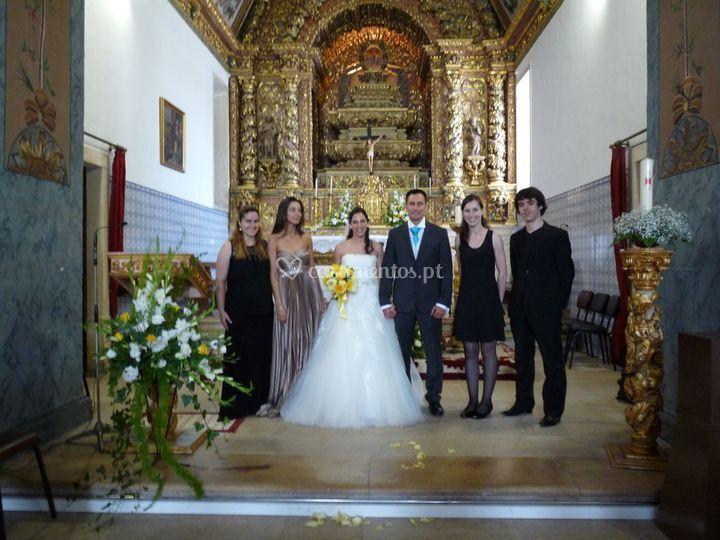 Após cerimónia