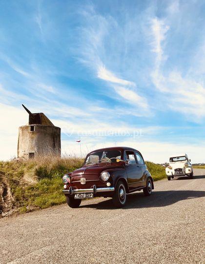 Fiat 600 e Citroen 2cv