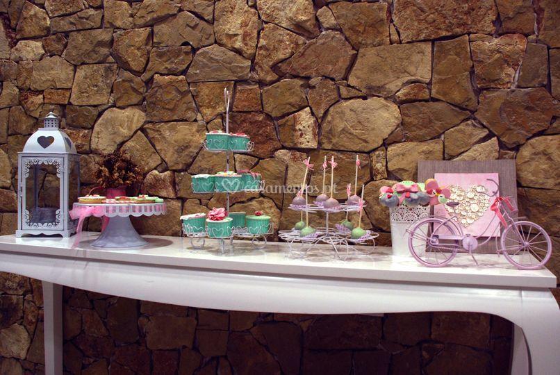 Decoração mesa doces