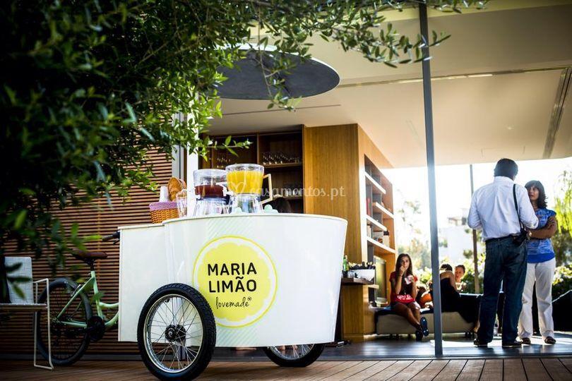 A Maria versão bicicleta!