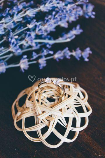 O anel de noivado