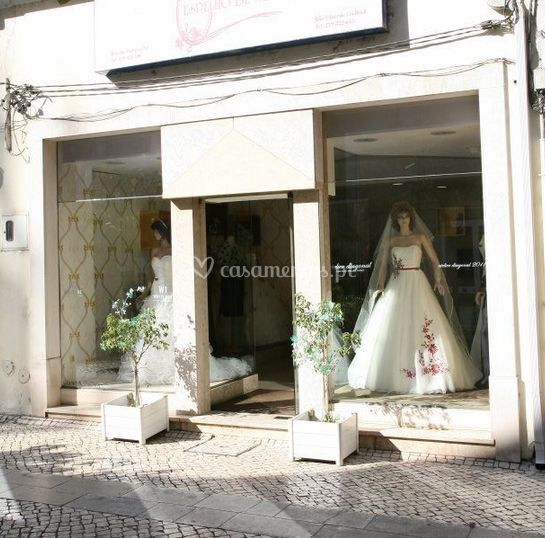 Vista exterior da loja