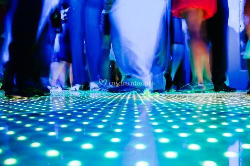 Pista de dança leds