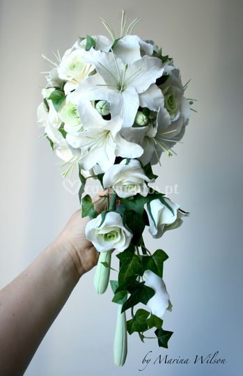 "Bouquet com ""saia"""