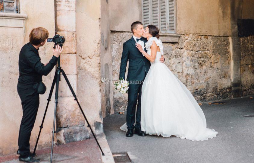 Casamento na França.