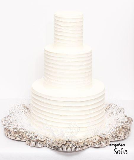 Bolo Rústico Casamento