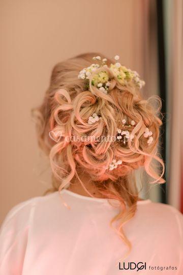 Noiva- penteado