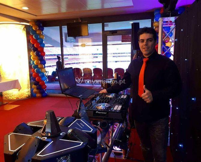 DJ no Estádio da Luz