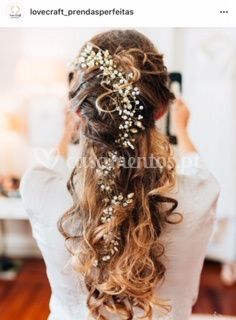 Grinalda para noiva