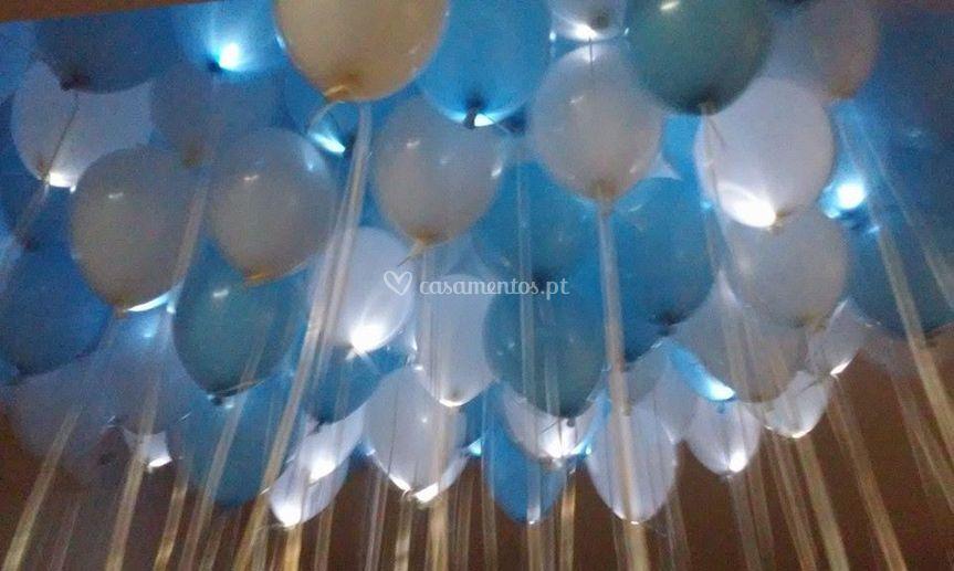 Balões com hélio