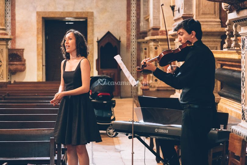 Trio cantora, piano e violino