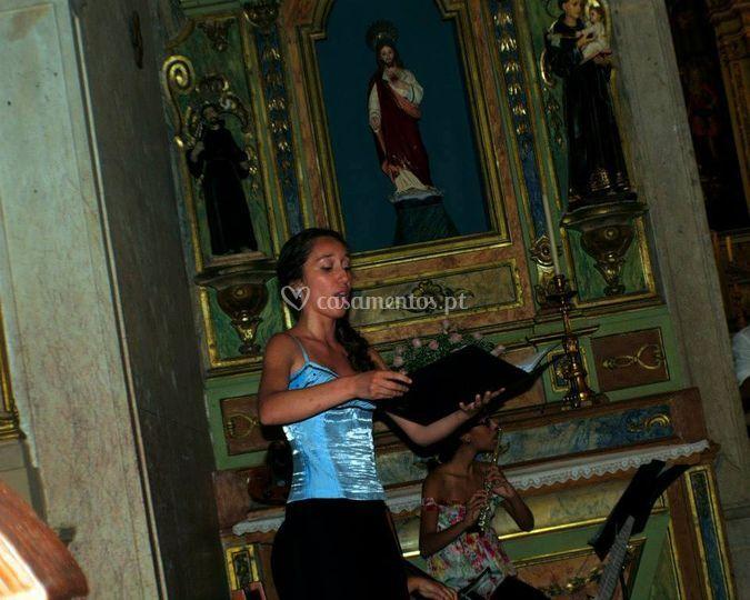 Cantora e flautista