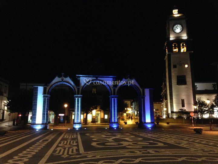 Iluminação decorativa - Açores
