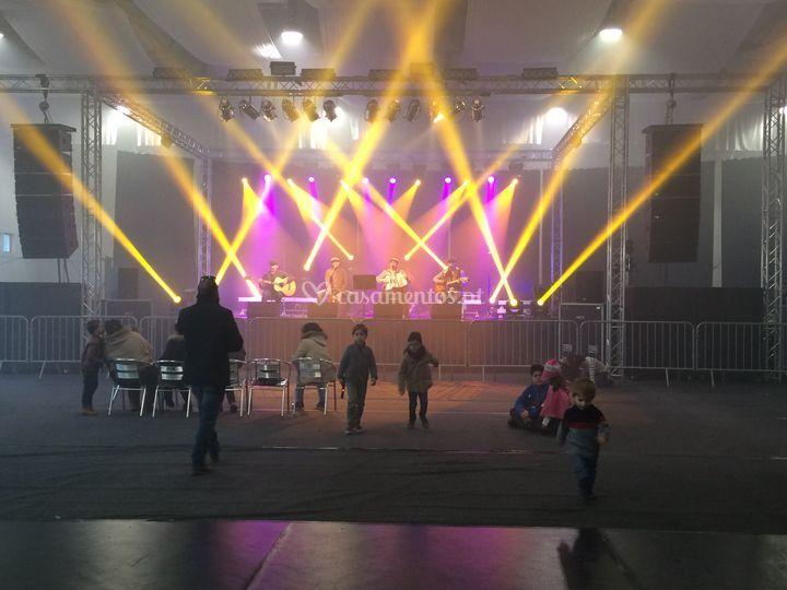 Iluminação de espectáculo