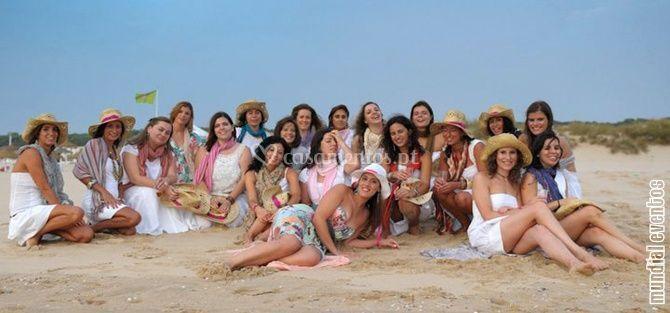 Book Fotográfico: Na Praia